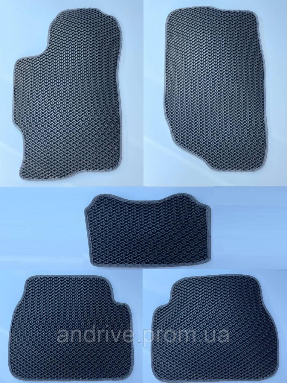 Килими салону MAZDA 6 GG (2002-2007) EVA-килимки єва чорні килимки