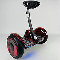 Сігвей Ninebot Mini Robot Червоне полум'я з підсвічуванням   Двоколісний гироскутер Найнбот Міні Робот для дітей