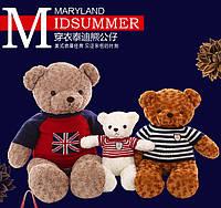 Большой плюшевый медведь  teddy bear 14 цветов от 38см -1.1 м