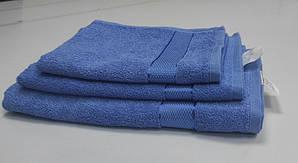 Полотенце махровое Синий NEW (Руки 40/70см)
