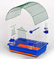 ЛОРИ Клетка для птиц Виола золото 470*300*660