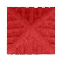 Кришка д/стовпчика Черепиця червона фарбована 34*34*9,5 П