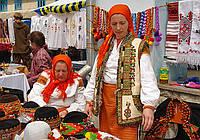 """Відео: """"Вишиваний базар"""" в Коломиї"""
