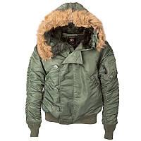 Мужская зимняя куртка N-2B PARKA Alpha Industries (Альфа Индустриес) Парка, Аляска