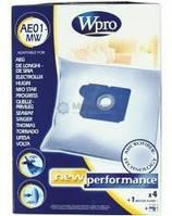 Мешок для пылесоса VCB AE01-MW. 4 шт+фильтр двигателя 481281718608