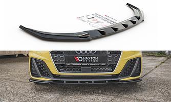 Сплиттер Audi A1 GB S-Line элерон тюнинг обвес (V1)