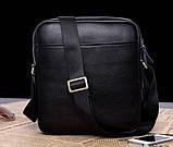 Якісна чоловіча сумка через плече-шкіряна барсетка планшетка Поло, Чоловіча сумка-планшет Polo еко шкіра, фото 5