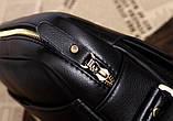 Якісна чоловіча сумка через плече-шкіряна барсетка планшетка Поло, Чоловіча сумка-планшет Polo еко шкіра, фото 7