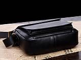 Якісна чоловіча сумка через плече-шкіряна барсетка планшетка Поло, Чоловіча сумка-планшет Polo еко шкіра, фото 8