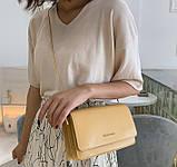 Жіноча міні сумка клатч на плече, фото 6