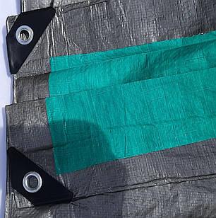 """Тент """"Сіро-зелений"""" 2х3м, щільність 100 г/м2, фото 2"""