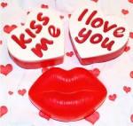 """""""Kiss me"""" натуральное подарочное мыло ручной работы"""