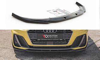 Сплиттер Audi A1 GB S-Line элерон тюнинг обвес (V2)