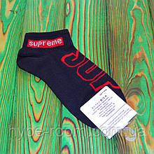 Универсальные черные брендовые Носки Supreme 36-45