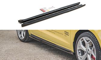 Пороги Audi A1 GB S-Line элерон тюнинг обвес