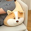 Корги мягкая игрушка плюшевая подушка собака премиум качество 65 см, фото 3