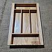 Лоток для столовых приборов  255-345.450 ясень, фото 3
