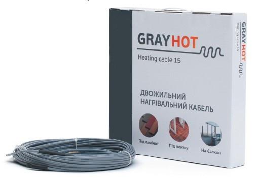 Нагрівальний кабель GrayHot 15, 752 Вт, 51 м