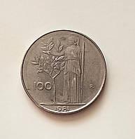 100 лир Италия 1981 г, фото 1