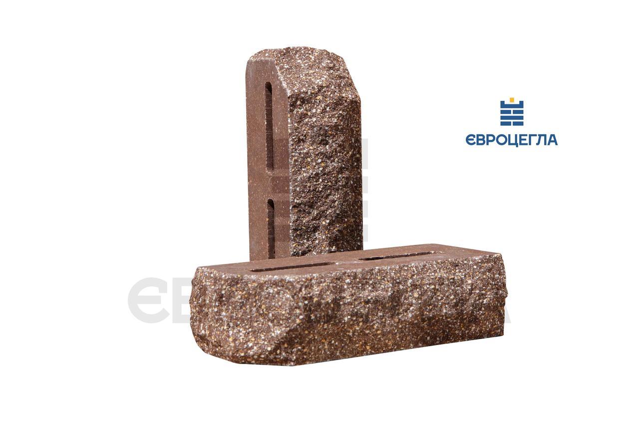 Пустотелый Кирпич скала углово-тычковой 220х65х100мм