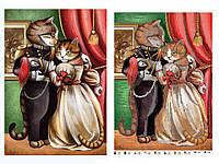 """Схема для вышивки бисером кошка, кот, """"Вальс"""""""