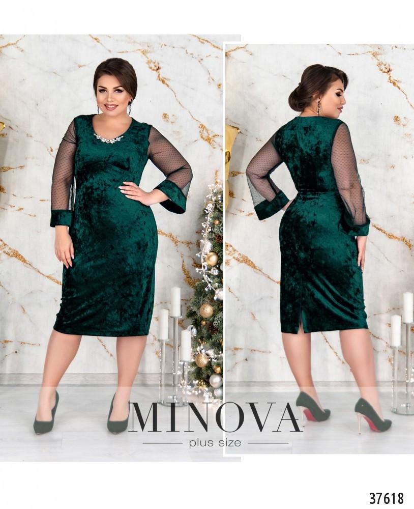 Елегантне вечірнє ошатне зелене плаття великого розміру. розмір 54, 56, 58, 60