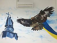 Декоративная роспись стен качественно