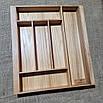 Лоток для столових приладів 360-450.400 ясен, фото 2