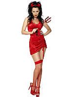 Эротический костюм дьяволицы, чертенка