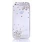 Чехол на iphone 5/5S цветы с камнями и стразами,, фото 2