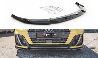 Сплиттер Audi A1 GB S-Line элерон тюнинг обвес (V3)