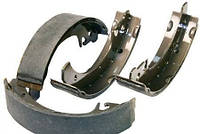 Колодка тормозная ВАЗ 2101-2107 задняя (компл. 4 шт.) (пр-во Начало)