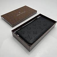 Кошелёк мужской Louis Vuitton Портмоне премиум качества Логотип