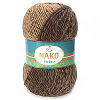 Nako Ombre коричневый с бежевым № 20311