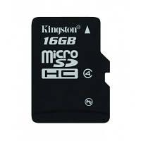 Kingston MicroSD 16GB Class 4 + SD-adapter