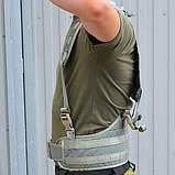 Разгрузочный жилет разгрузка РПС (ППРС-М) серая, фото 3