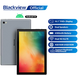 Планшет 10 дюймів Blackview Tab 8 4/64Gb Android 10 8 ядер 4/64Gb 2Sim 4G Металік