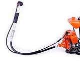 Мотокоса Бензиновая для травы с гибким валом BG328 бензокоса с гибким валом триммер бензиновый кусторез, фото 3