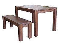 Стол Амберг Люкс деревянный массив дуба, фото 1