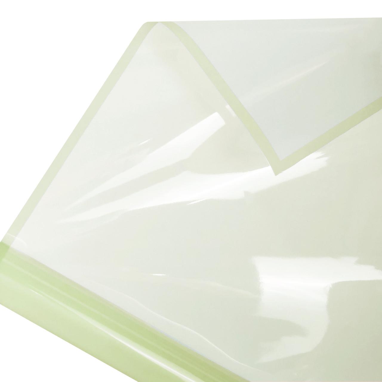 Калька глянцевий кант в рулоні фісташкова 60*60 см (15 рамок)