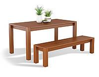 Стол Амберг деревянный массив бука