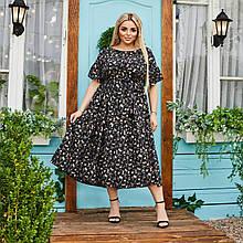 Платье Гоа (чёрный) 2403216