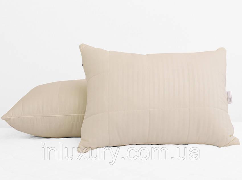 Подушка лебединий пух Stripe 50х70 (стьобаний)