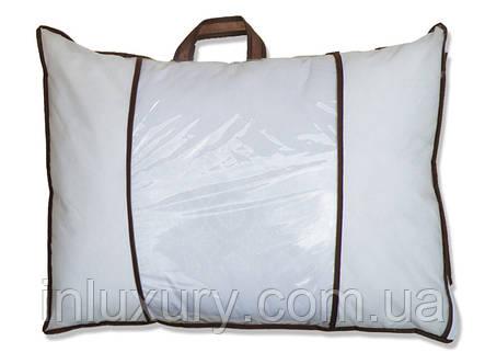 Подушка лебединий пух Stripe 70х70 (стьобаний), фото 2