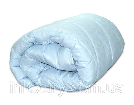"Одеяло лебяжий пух ""Голубое"" евро, фото 2"