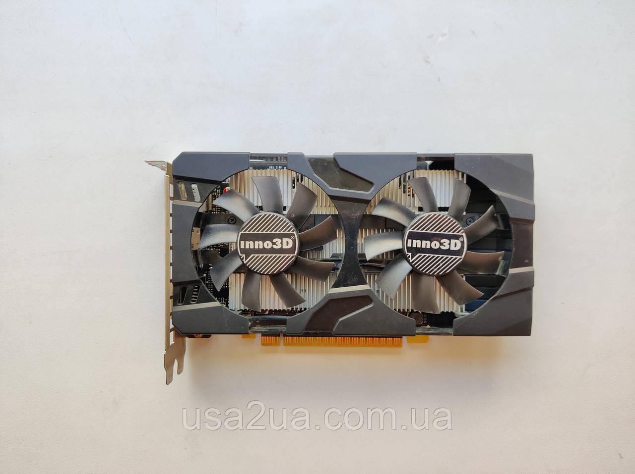 Видеокарта Inno3D PCI-Ex GeForce GTX 1050 Ti  4GB GDDR5 128bit гарантия кредит