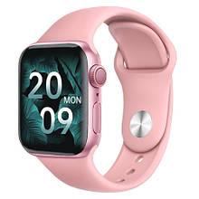Смарт часы Watch Series 6 HW22 Pro 44mm Aluminium Pink