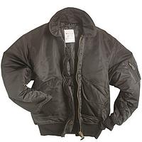 Летная куртка США черная Mil-tec