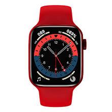Смарт часы Watch Series 6 HW22 44mm Aluminium Red