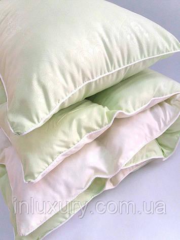 Комплект одеяло и подушка салатовый, фото 2